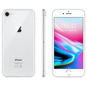 Apple iPhone 8 64 GB - Silver (MQ6H2CN/A) + Doprava zdarma