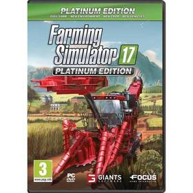 GIANTS software PC Farming Simulator 17 Platinum Edition CZ