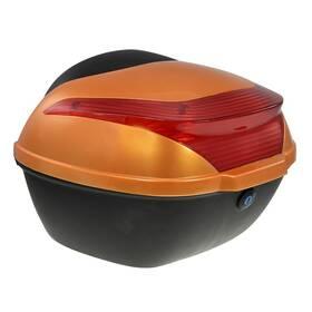 Zadní kufr k elektrickému motocyklu RACCEWAY E-BABETA, oranžový