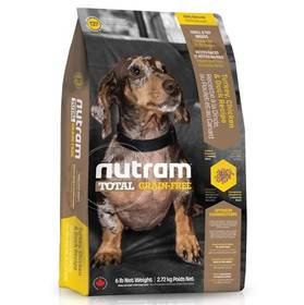 NUTRAM Total Grain Free Small Breed Turkey, Chicken, Duck Dog 6,8 kg
