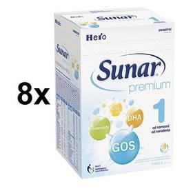 Sunar Premium 1, 600g x 8ks