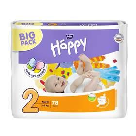 Bella Baby Happy Mini Big Pack 78 ks Ubrousky čistící Bella Baby Happy hedvábí a bavlna 64 ks (zdarma)