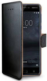 Celly Wally pro Nokia 5 (WALLY661) černé