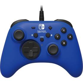 HORI Wired Controller HORIPAD pro Nintendo Switch (NSW-155U) modrý