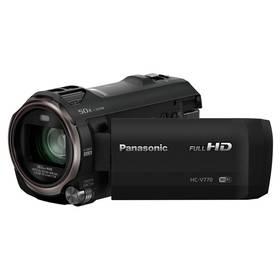 Panasonic HC-V770EP-K černá + Doprava zdarma