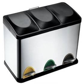TORO 3 x 15 l černý/nerez Čistící přípravek na koupelny YOU 500 ml (zdarma)Sáčky do koše Brabantia 20L (E) 20ks v roli (zdarma) + Doprava zdarma