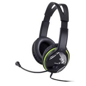 Headset Genius HS-400A (31710169100) čierny/zelený