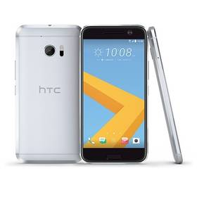 HTC 10 - glacier silver (99HAJH017-00) + Doprava zdarma