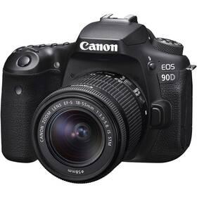 Canon EOS 90D + 18-55 IS STM černý