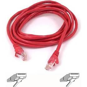 Belkin síťový (RJ45), 5m (A3L791b05M-REDS) červený