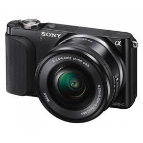 Sony NEX-3NLB, černý + objektiv SELP1650 (NEX3NLB.CE) + Doprava zdarma