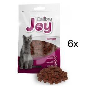 Pochúťka Calibra Joy Cat Duck Cubes 6 x 70g