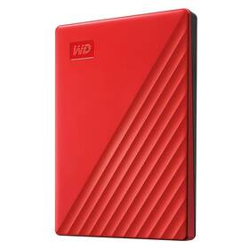 Western Digital My Passport Portable 2TB, USB 3.0 (WDBYVG0020BRD-WESN) červený