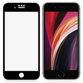 PanzerGlass Edge-to-Edge Anti-Glare na Apple iPhone 6/6s/7/8/SE 2020 (2700) čierne
