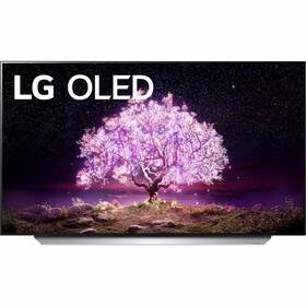 LG OLED48C12 strieborná/biela