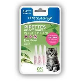 Francodex repelentní kotě 3 x 0,6 ml