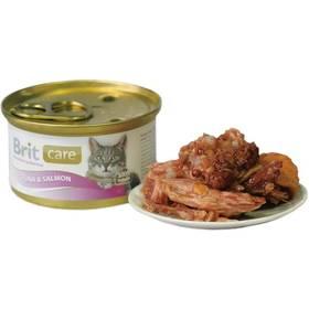 Brit Care Cat tuňák & losos 80g