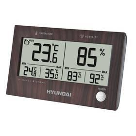 Meteorologická stanica Hyundai WS 2215 drevená