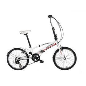 """Skládací kolo Coppi 2016 Car Bike, vel. 20"""" - černá/bílá + Doprava zdarma"""