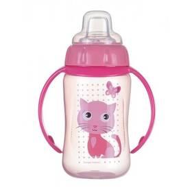 Canpol babies s úchyty,růžový ružový