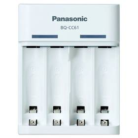Nabíjačka Panasonic BQ-CC61, USB nabíjení, pro AA/AAA baterie (450031)