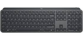 Logitech MX Keys, US (920-009415) sivá