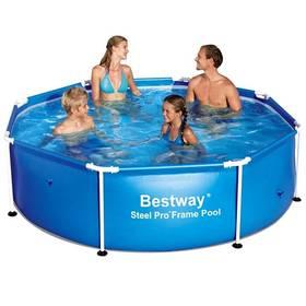 Bestway Steel Frame Pool 244 x 61 cm, 56431 + Doprava zdarma