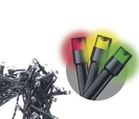 EMOS 200 LED, 10m, řetěz, multicolor (1534210090)