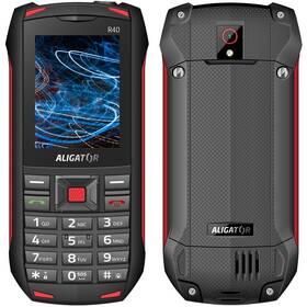 Aligator R40 eXtremo (AR40BR) čierny/červený