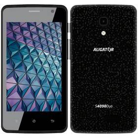 Mobilný telefón Aligator S4090 (AS4090BK) čierny