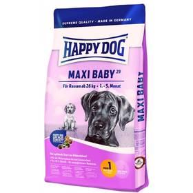 HAPPY DOG MAXI Baby GR 29 15 kg Konzerva HAPPY DOG Rind Pur - 100% hovězí maso 400 g (zdarma) + Antiparazitní obojek za zvýhodněnou cenu + Doprava zdarma