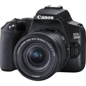 Digitálny fotoaparát Canon EOS 250D + 18-55 IS STM (3454C002) čierny