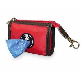 Zásobník Nobby TidyUp Patsy na sáčky na trus - červená
