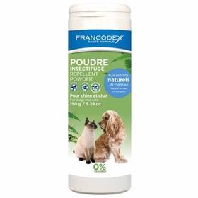 Púder Francodex repelentní pes, kočka 150g