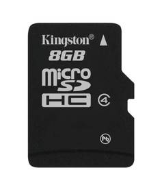 Kingston MicroSDHC 8GB Class4 (SDC4/8GBSP)