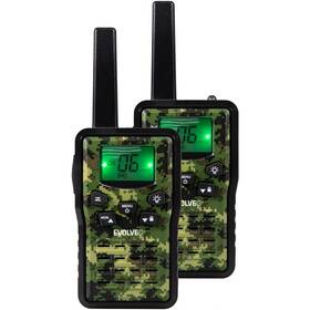 Evolveo FreeTalk 2W (FT-2W) čierna/zelená