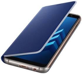 Samsung Neon flip pro Galaxy A8 2018 (EF-FA530P) (EF-FA530PLEGWW) modré + Doprava zdarma