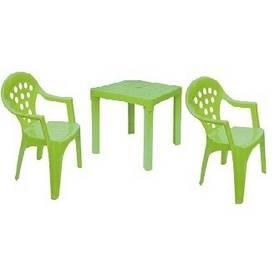 IPAE dětský - odnímatelné nohy - plast/zelený zelené/plast