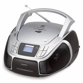 Radiopřijímač s CD Orava RCD-811 černý/šedý