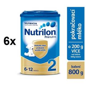 Nutrilon 2 Pronutra, 800g x 6ks + DÁREK + Doprava zdarma