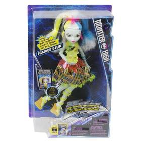 Panenka Mattel Monster High Frankie v monstrózním napětí + Doprava zdarma