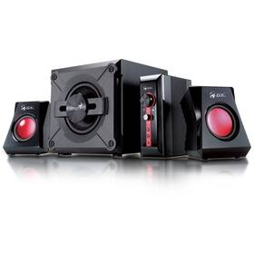 Genius GX Gaming SW-G 2.1 1250, Verze II. (31730019400) čierne/červené