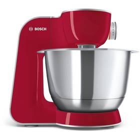 Bosch CreationLine MUM58720 strieborný/červený