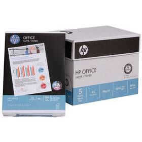 HP OFFICE A4 Papír 80g, A4, 5x 500 listů