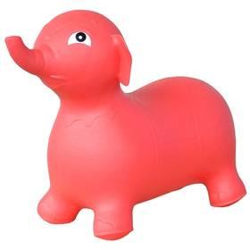 Skákacie zvieratko Master slon červené