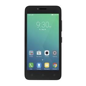 Lenovo A Plus Dual SIM (PA4S0013CZ) černý SIM s kreditem T-mobile 200Kč Twist Online Internet (zdarma)