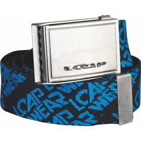 Pásek sportovní Loap Rosello 125 cm - černá/modrá