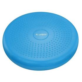 LIFEFIT BALANCE CUSHION 33 cm modrý