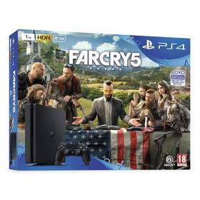 Sony PlayStation 4 SLIM 1TB + Far Cry 5 (PS719377672) + Doprava zdarma