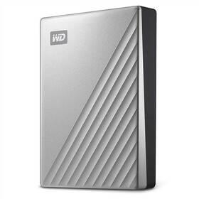 Western Digital My Passport Ultra 4TB (WDBFTM0040BSL-WESN) stříbrný